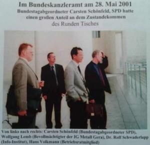 Im Kanzleramt 2001