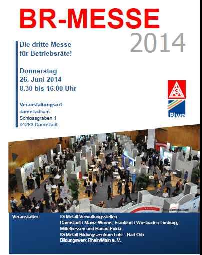 BR Messe 2014 Prospekt
